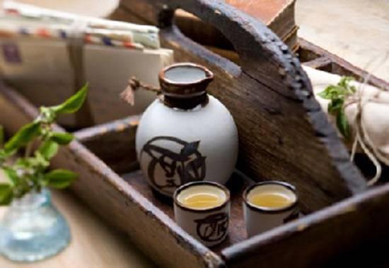 Японская рисовая водка