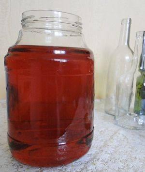Настойка из замороженной малины на водке