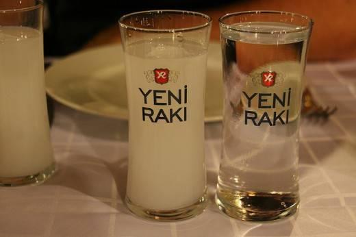 Турецкая водка раки как пить