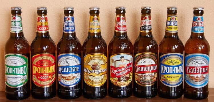 Немецкое пиво с монахом на этикетке