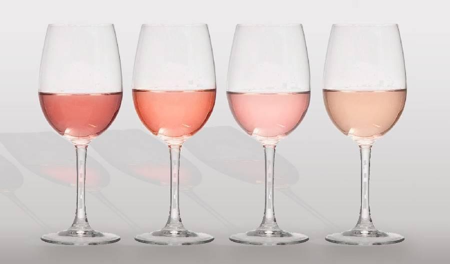 Розовое сладкое итальянское вино