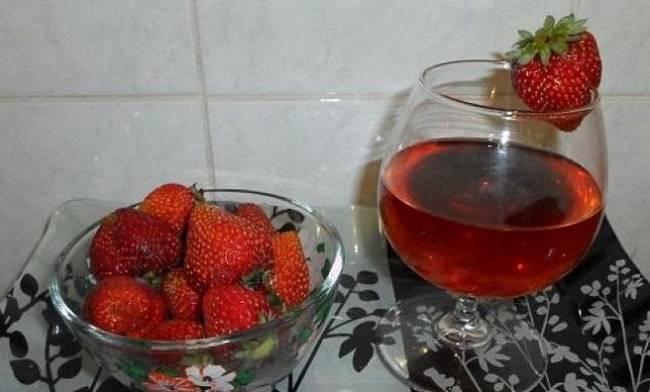 Как приготовить вино из клубники