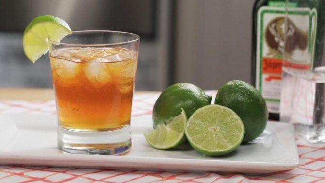 Коктейли с лимонным соком
