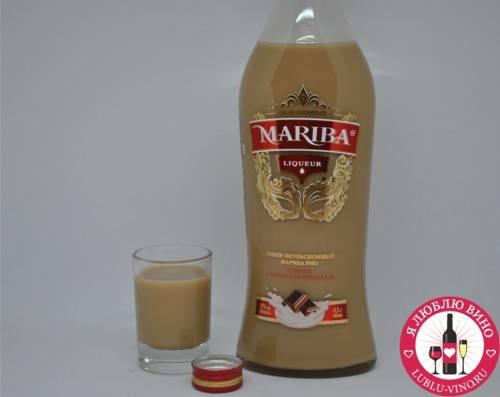 Mariba cream liqueur