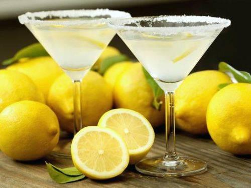 Водка настоянная на лимоне