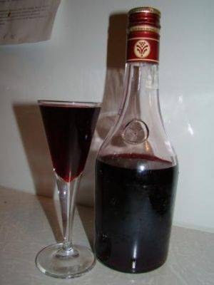 Наливка из черной смородины на спирту