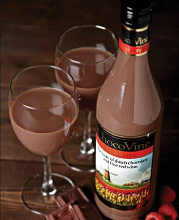 Choco wine