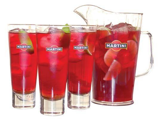 Martini rosso с чем пить