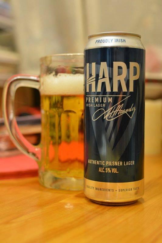Пиво харп описание