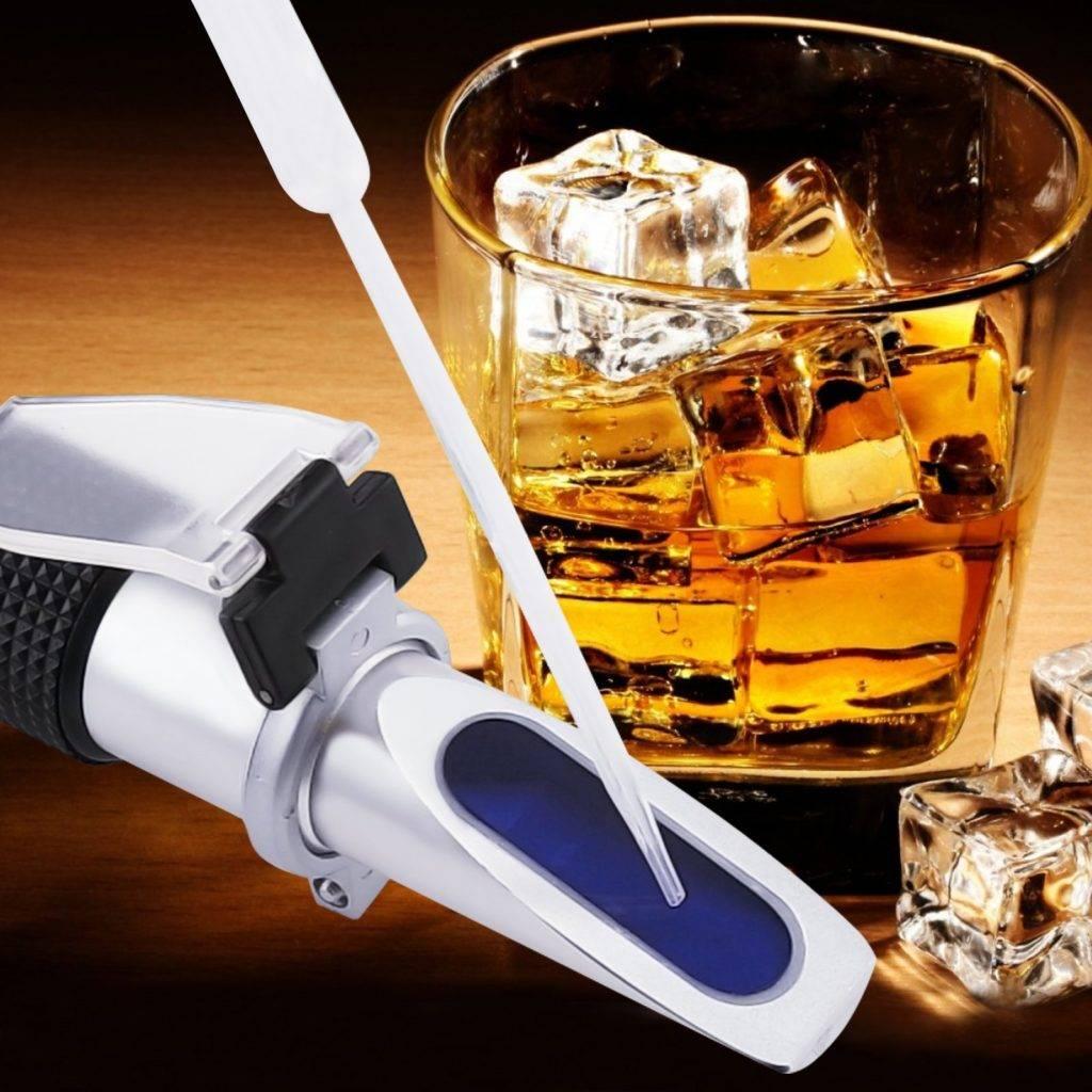 Измеритель градусов алкоголя