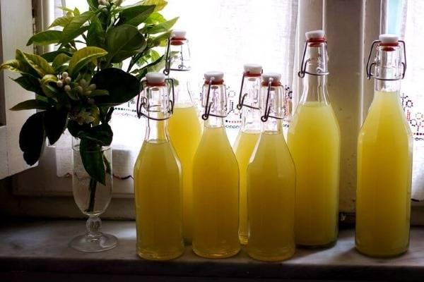 Лимончелло сколько градусов