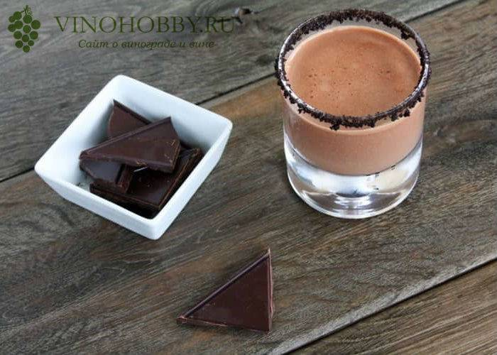 Коктейли с шоколадной текилой olmeca