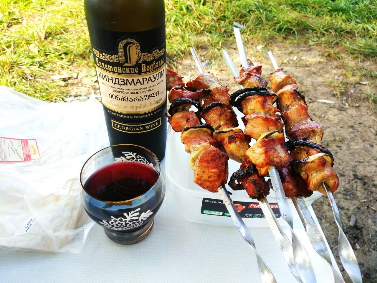 Kindzmarauli вино