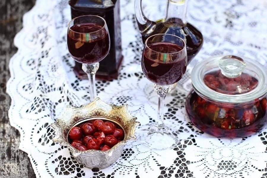 Вишневка рецепт с водкой и сахаром