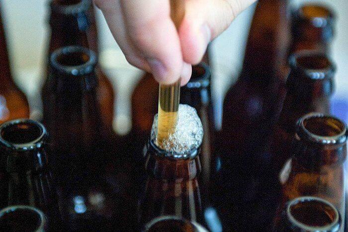 Баклажка пива